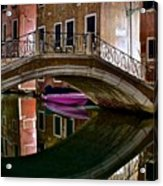 Over The River And Through The Buildings Acrylic Print