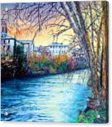 Over The River Acrylic Print