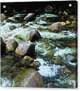 Over The Boulders - Mossman Gorge, Far North Queensland, Australia Acrylic Print
