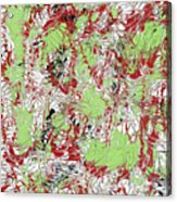 Overactive Christmas Celebration - V1db100 Acrylic Print