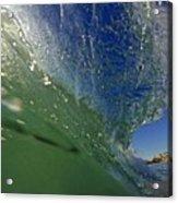 Overhead Wave Acrylic Print