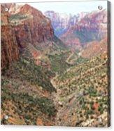Overlook Canyon Acrylic Print