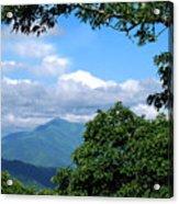 Overlook On The Pisgah Trail Acrylic Print