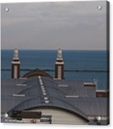 Overlooking Navy Pier Acrylic Print