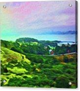 Overlooking San Francisco Bay Acrylic Print