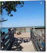 Overlooking Sarasota Bay Acrylic Print