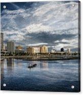 Overlooking West Palm Beach Acrylic Print