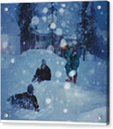Overnight Snow Acrylic Print
