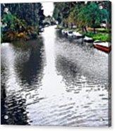 Overrijn Digital Artwork Acrylic Print
