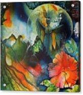 Overseer By Reina Cottier Acrylic Print
