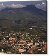 Overview Of Town Of Trinidad Acrylic Print