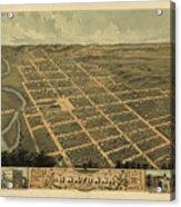Owatonna, Minnesota 1870 Acrylic Print