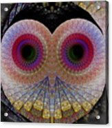 Owl Abstract Acrylic Print