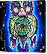Owl No Uv Acrylic Print
