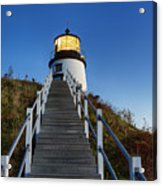 Owls Head Lighthouse Acrylic Print by John Greim