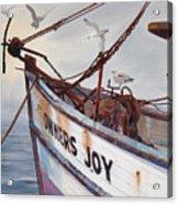 Owners Joy Acrylic Print