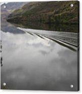 Oxbow Reservoir Wake Acrylic Print