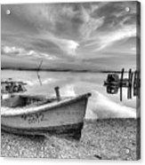 Oyster Boat Ap3392 Acrylic Print