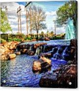 Oyster Creek Acrylic Print