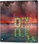 OZ Acrylic Print