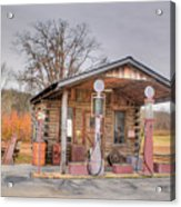 Ozark Car Filling Station Acrylic Print