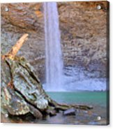 Ozone A 90 Foot Waterfall Acrylic Print