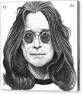 Ozzy Osbourne Acrylic Print