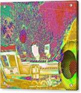 Ozzy's Crazy Train   Acrylic Print