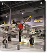 P-38 Lighting Marge Acrylic Print