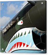 P-40 Flying Tigers Acrylic Print