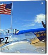 P-51 Hell - Er - Bust Acrylic Print