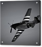 P-51d Quick Silver Acrylic Print