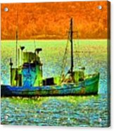 p1030865001d  Fishing  Boat Acrylic Print