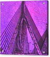 p1040151b  Zachon  Bridge Acrylic Print