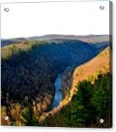 Pa Grand Canyon-pine Creek Acrylic Print