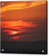 Pa Sunset Acrylic Print