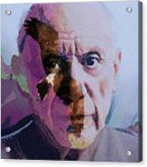 Pablo Picasso Portrait  Acrylic Print