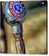Pabst Breweries Acrylic Print