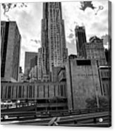 pace university campus New York City USA Acrylic Print