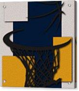 Pacers Hoop Acrylic Print