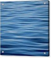 Pacific Brush Strokes Acrylic Print