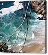 Pacific Coastline  Acrylic Print