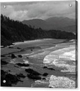 Pacific Ocean Moody Scenic Acrylic Print