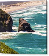 Pacific Ocean Shore Acrylic Print