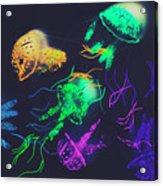 Pacific Pop-art Acrylic Print