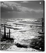 Pacific Silver Acrylic Print