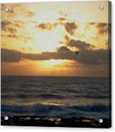 Pacific Sunset I Acrylic Print