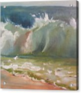 Pacific Wave Acrylic Print