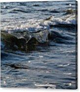 Pacific Waves Acrylic Print