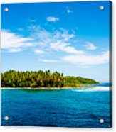 Perfectly Pacific Acrylic Print